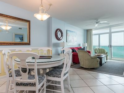 Photo for Crescent Keyes -  703 Bright beautiful 2 bedroom condo on the beach!