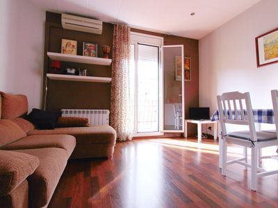Photo for FANTASTIC LOCATION Sagrada Familia, peaceful, couples / families, WIFI, heating