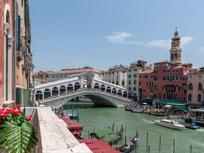 Photo for Venice Grand Canal Terrace - Apartment for 10 people in Venice