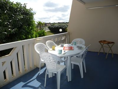 Photo for T2 on the ground floor, residence with pool in Vieux Boucau