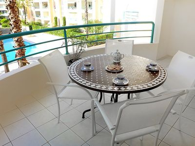 Photo for Apartment 486 m from the center of Fréjus with Lift, Parking, Internet, Washing machine (137407)