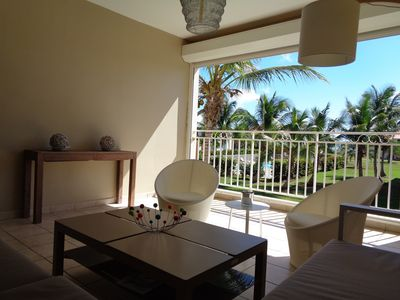 Photo for Guadeloupe, Spacious and Chic T4 on St Francois lagoon with swimming pools and beach.