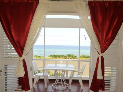 Photo for There is 20% discount from June - July 15th or a free night. Apt E19 Sea Castle Rose Hall, Montego Bay St J