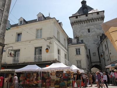 Photo for 3BR Apartment Vacation Rental in Loches, Centre-Val De Loire