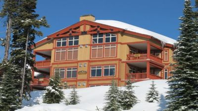 Photo for Spectacular Loft Chalet, Ski In/Out Private Hot Tub Amazing Monashee Mtn Views