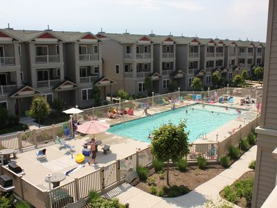 Photo for FAMILY FRIENDLY TOWNHOME - 4 Bedroom, 3.5 Bath POOL (3 blocks to beach) Sleeps10