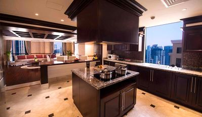 Photo for Luxurious penthouse on the sky top floor full sea view