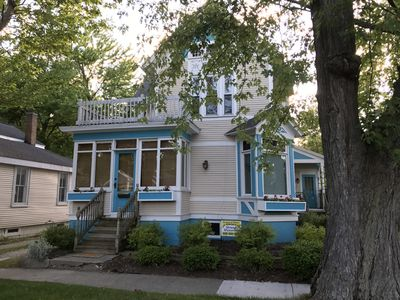 Photo for 1 block to town-near beach-Memorial week, June, Aug, & Sept weeks available.