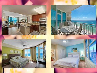 Photo for AQUA- Spectacular 3BD Condo, Next to Pier Park By ZIA!