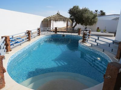 "Photo for VILLA ""ZAYNEB"" WITH SWIMMING POOL 100% without opposite"