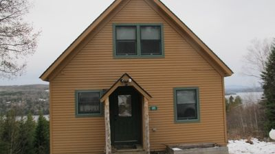 Photo for Cozy cabin with incredible views of Rangeley Lake!