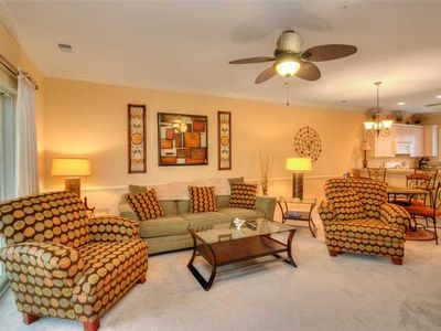 Photo for Elegant decor! Great Location! Directly across from the pool!