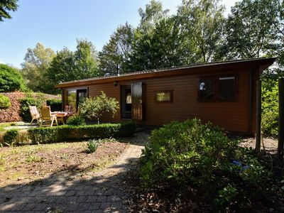 Photo for Spacious chalet with enclosed garden at the edge of the forest, near the Veluwe