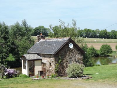 Photo for Detached Lakeside Stone Cottage Set In Rural Countryside