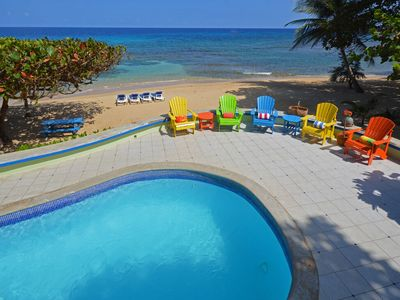 Photo for BEACHFRONT! STAFF! POOL! AFFORDABLE! Idle Hours - Runaway Bay 3BR