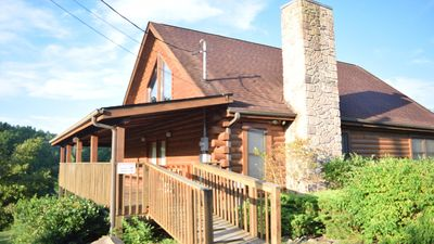 Photo for Escape to the mountains!  Hot tub, pool table, XBox, newer grill, WiFi & more