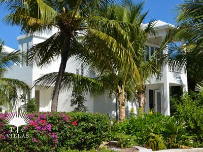 Photo for Wild Cherry Luxury 2BR Beachfront Villa on Grace Bay with Great Snorkeling
