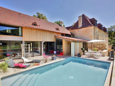 Photo for Sublime master house - quiet 5 * label private heated pool, sleeps 6