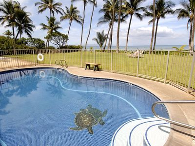 Photo for 1 Bd 1 Bath Ocean Front Ground Floor Condo in Central Kihei