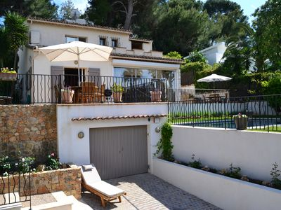 Photo for Reduced August rates - Villa with pool in heart of Cap D'Antibes & near beaches