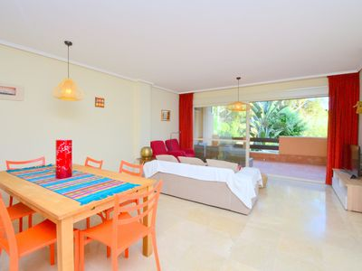 Photo for Peaceful 3 Bedrooms Apartment walking to the beach with dunes