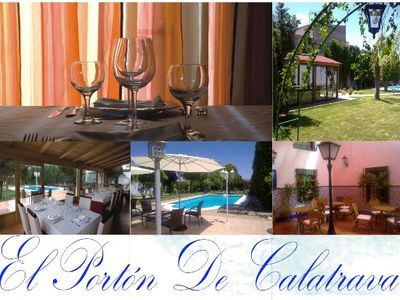 Photo for Self catering El Porton de Calatrava for 23 people