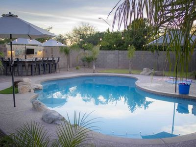 Photo for Beautiful North Phoenix home with pool and huge backyard patio