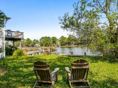Photo for New! Bring your boat, fish from your private pier, relax & cruise on the bayou -Tarklin/Perdido Bay!