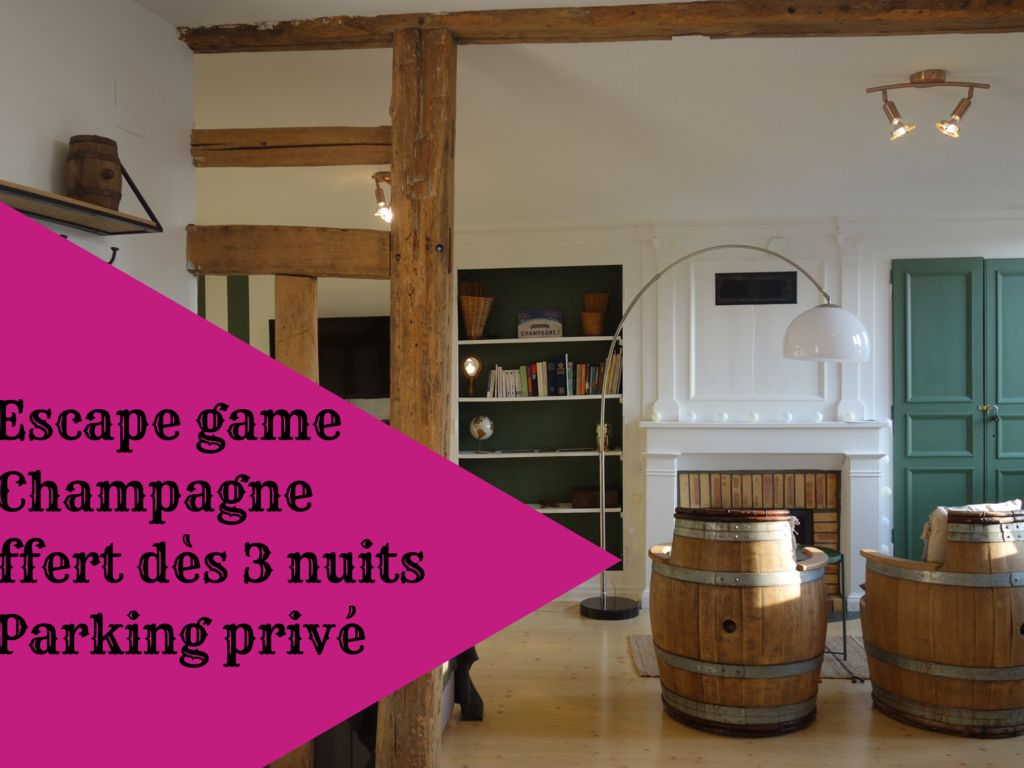 Escap'ade en Champagne - Appartement