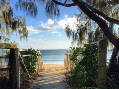 Photo for 20 Steps to the Sand! - Beachfront Apartment! No Roads to Cross