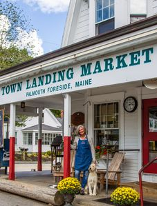 Welcome to the Town Landing Market.