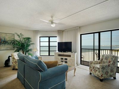 Photo for Penthouse Unit at Island Winds!  Enjoy the Sunset Over the Gulf of Mexico from PH 21's Lanai!!! CLICK FOR REVIEWS!