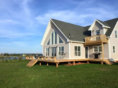 Photo for Spectacular oceanfront views in newer cottage.