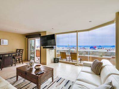 Photo for 50' of Ocean Front + Exclusive Ground Level Patio + AC
