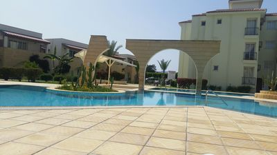 Photo for 2 Bedroom Apartment on Luxury Gated Complex, Bogaz Northern Cyprus