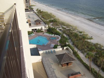 Photo for Luxury Beachfront Condo! WIFI, Pool, Jacuzzi, Views!