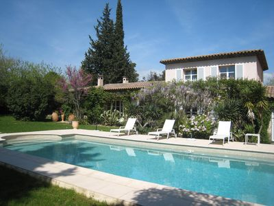 Photo for Rent 3 bedrooms in villa with pool in Mougins