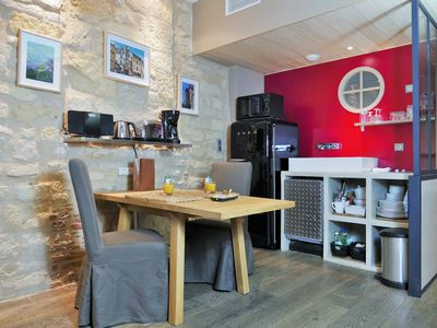 Photo for Le Duo: 2 people, ideally located in the heart of the medieval city of Sarlat