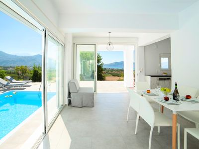 Photo for Cretan Sunset Villa with Private Pool