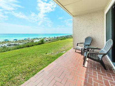 Photo for Crystal Villas A-2⭐ OPEN Apr 26 to 28 $676!⭐Beach Service-BeachFront-Heated Pool