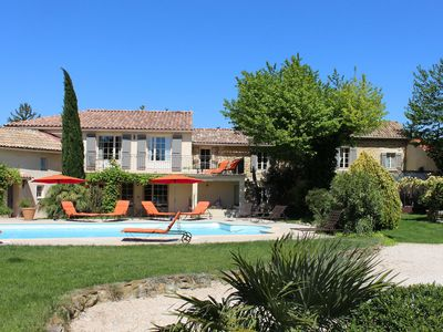 """Photo for Le Mas d'Hortense in Orange Charming cottage """"crush"""" 4 **** swimming pool"""
