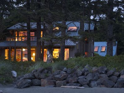 Photo for Tofino~ Chesterman~ Beach~  Architecturally~ Designed~ House  Chahayis~ Sleeps 6