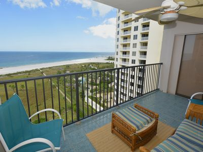 Photo for 15th Floor Beauty in Sand Key! 2 Bedroom, 2 Bath-Sleeps 4. 30 day minimum.