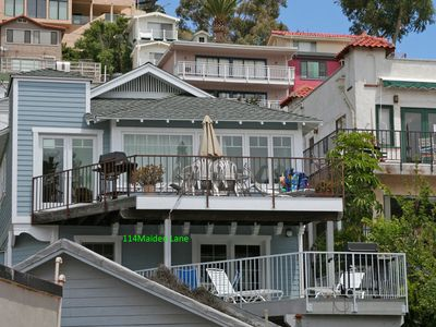 Photo for Hillside Beach House w/ Large Outdoor Deck, Min Away from the Beach