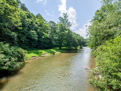 Photo for 3BR Cabin, King Suite, Hot Tub, Pool Table, River Access, & Pet Friendly!