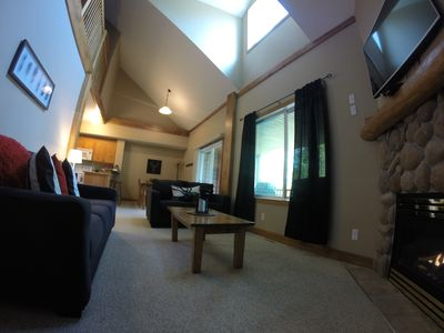Photo for Best Value On The Mtn! A Beautiful Ski-In/Out 3 Bed 3 Bath, Sleeps 12 and HotTub