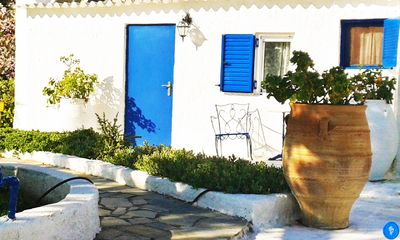 Photo for Villa with direct access to the sea in a Greek Villa