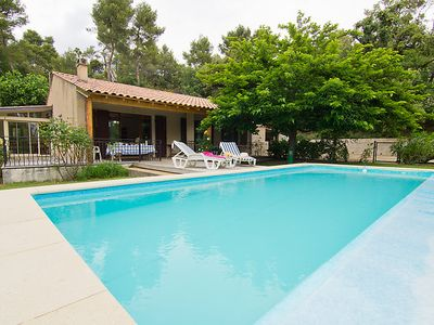 Photo for 3 bedroom Villa, sleeps 6 in Grambois with Pool