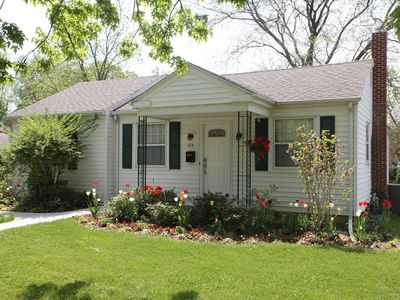 Photo for Comfy and Quiet - Just 3 blocks from Lake Michigan!