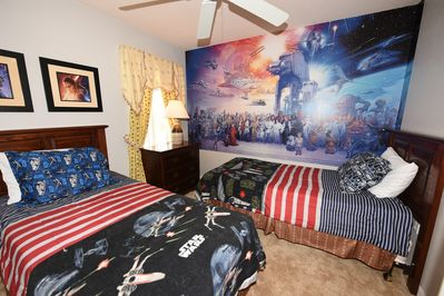 Star Wars Themed Twin Room